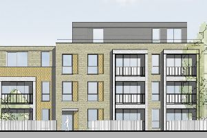 Crawley Borough Council has refused outline planning permission for flats in Brighton Road. Image: Mohsin Cooper Architects