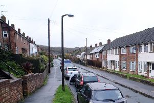 Stansfield Road in Lewes, where Nicola Stevenson lived. Picture: Peter Cripps