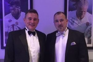 Businessmen Tony Portelli and Andy Parkes