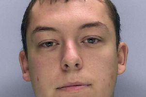 Connor Richardson stole from two women he met on dating website Plenty of Fish. Photo: Sussex Police