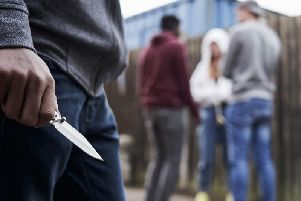 Knife crime in Sussex increased by 11% last year