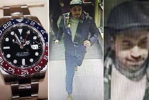 Police have released images of a man they would like to identify. Photo: Sussex Police