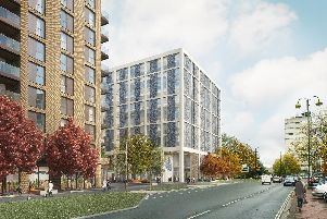 An artist's impression of how the new completed scheme will look