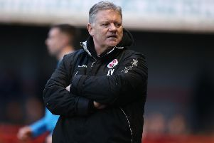Crawley Town head coach John Yems. Picture courtesy of Getty Images