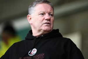 Crawley Town head coach John Yems. Picture courtesy of Gettyy Images
