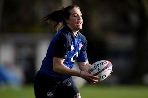 Emily Scarratt (Photo by Mike Hewitt/Getty Images)