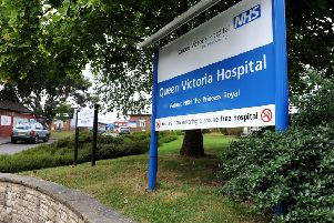 Queen Victoria Hospital in East Grinstead. Picture: Steve Robards
