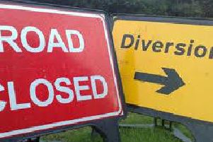 Diversions are in place on the A29 on the outskirts of Dungannon