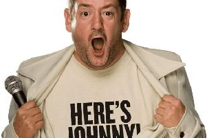 Johnny Vegas is coming to Kettering.