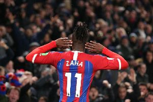 Crystal Palace's Wilfried Zaha has been at the centre of many derby matches against Brighton
