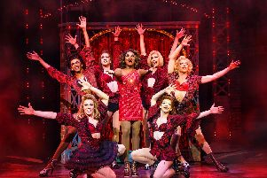 Kinky Boots the musical. Previous cast picture included.
