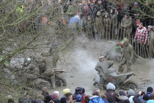 Typically mud-bound mayhem at the annual Wild'n'Woolly scramble, a test of stamina, skill and machine preparation. NNL-181220-095601005