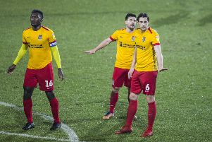 Ash Taylor, Aaron Pierre and David Buchanan have all been captain at some point this season. Picture: Kirsty Edmonds