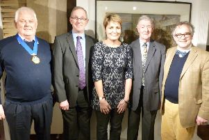 From left: Peter Burgess, Jeremy Knight, Laura Kidner, David Brangwyn and Rupert Toovey