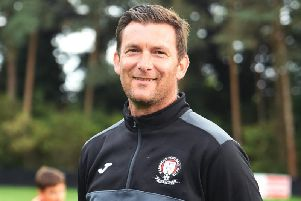 Hassocks boss Mark Dalgleish