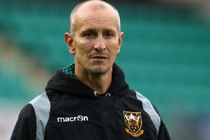 Saints defence coach Alan Dickens