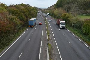 The A27. Pic: Peter Cripps