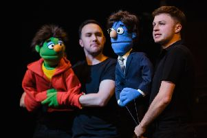 Avenue Q is at Royal & Derngate this week