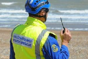 Mablethorpe Coastguard responded to reports of mystery lights over the Lincolnshire coast.