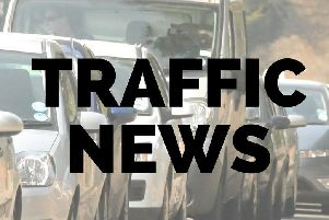 All traffic is reportedly stationary on the M1 heading towards Northampton.