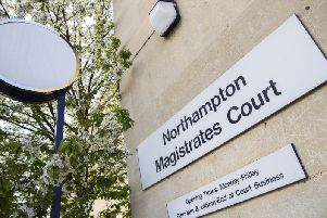 He appeared before Northampton Magistrates Court on Thursday