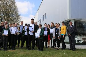 Daventry Hill School received a certificate at the end of the session