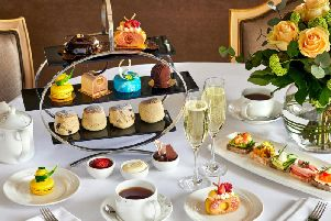 A wondrous array of treats awaits at the Podium restaurant