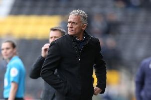 SPOT ON: Keith Curle. Picture: Pete Norton