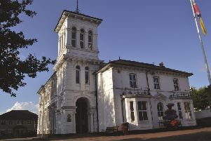 The Italianate-styled White House is one of the buildings featured in the book