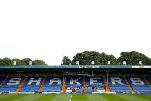 Gigg Lane, home of Bury. Picture: Getty