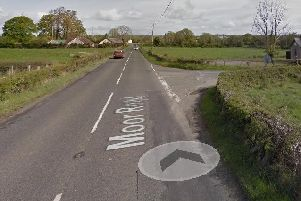 Motorists asked to avoid Moor Road at Clonoe