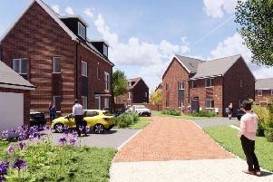 Plans for 303 homes west of Copthorne