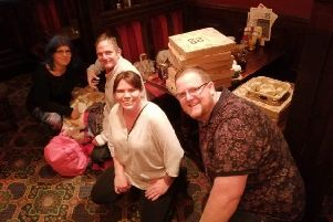 Piles of pizzas at Wetherspoons after Chris' first homeless feed in Southampton
