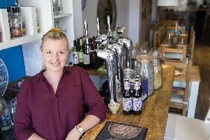 Jade Haughton, manager at Bread and Pullet, in Wellingborough Road. Pictures Kirsty Edmonds.