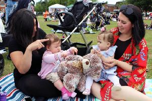 There was plenty to do during the Burgess Hill Summer Festival. Residents pictured at the Teddy Bears Picnic. Picture: Burgess Hill Town Council