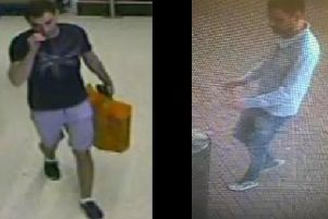 Police have released CCTV images in connection with incidents of fraud at a number of Sainsbury's stores - including the branch in Aylesbury