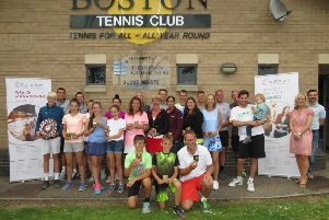 The Boston Tennis Club championships winners.
