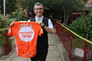 Ed Cooke is saddling up for an 100-mile charitable bike ride.
