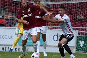 Cobblers were beaten by Sheffield United on Saturday afternoon