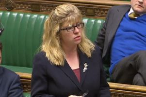 Maria Caulfield MP in the House of Commons SUS-190813-105420001