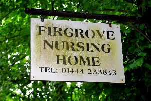 Firgrove nursing home in Burgess Hill. Photo by Steve Robards