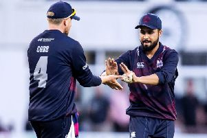 Josh Cobb was happy to see Faheem Ashraf steer the Steelbacks to victory