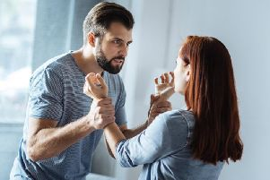 Domestic violence reports are rising in Northamptonshire. Photo: stock