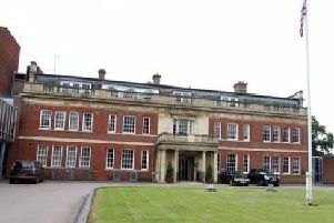 Northamptonshire Police's base at Wootton Hall Park