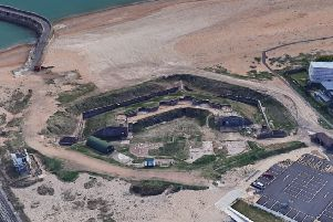 Shoreham Fort is a scheduled ancient monument. Picture: Google