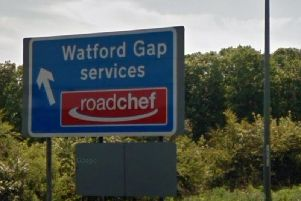 Ervijs Baltins left the Watford Gap Services and drove northbound on the southbound carriageway.