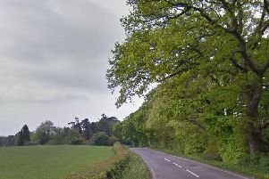 The collision happened in Paddockhurst Road, Turners Hill. Picture: Google Street View