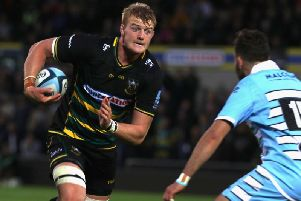 David Ribbans is staying at Saints