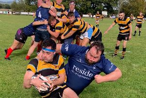 Action from Cranleigh v Old Wellingtonians. Picture courtesy of Nick Hendy