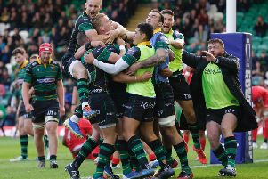 Saints had some moments of cheer against Saracens but were eventually well beaten